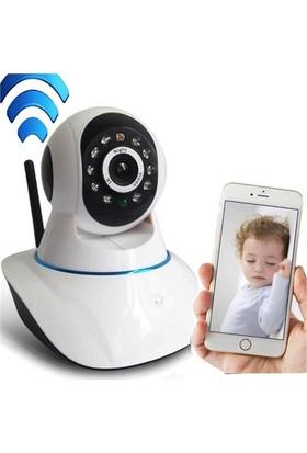 Cix Kingboss Hd 360 Derece Hareket Sensörlü Ip Bebek Ve Güvenlik Kamerası