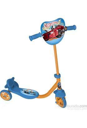Cix Hot Wheels Silikon Tekerli Frenli Scooter