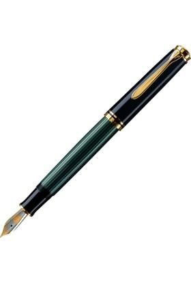 Pelikan Dolma Kalem Souveran Siyah Yeşil M400