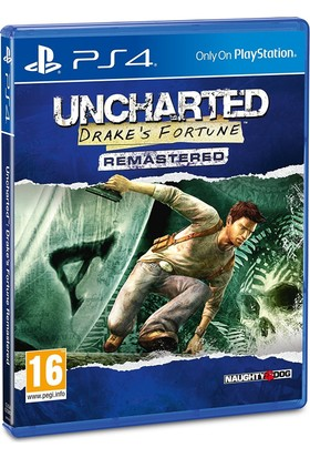 Naughty Dogs Ps4 Uncharted Drake'S Fortune Remastered