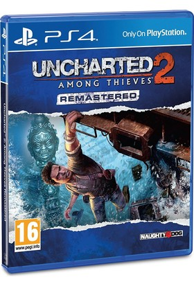 Naughty Dogs Ps4 Uncharted 2 Among Thieves Remastered