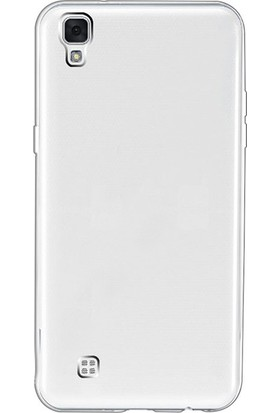 Gpack LG X Style Kılıf Ultra İnce 02mmSilikon Arka Kapak
