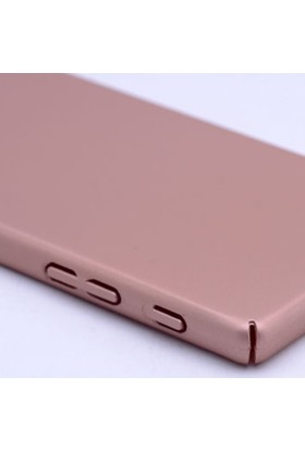 Gpack Sony Xperia X Kılıf 360 Derece Rubber Case Arka Kapak +Cam