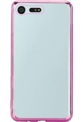 Gpack Sony Xperia X Compact Kılıf Lazer Silikon Arka Kapak