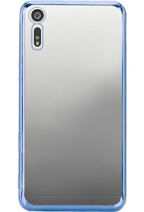 Gpack Sony Xperia XZ Kılıf 03mm Lazer Silikon Arka Kapak