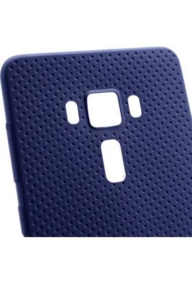 Gpack Asus Zenfone 3 ZE552KL Kılıf Matrix Silikon Arka Kapak