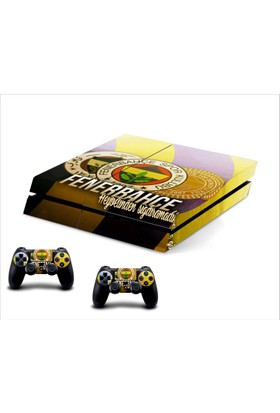Stickermarket Ps4 Fenerbahçe Sticker Seti