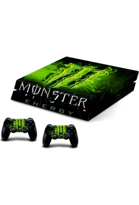 Stickermarket Ps4 Monster Sticker Seti