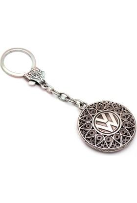 Sümer Telkari Volkswagen Telkari Elişi Gümüş Anahtarlık