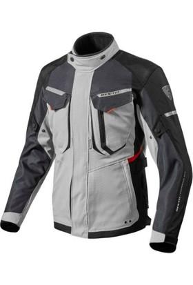 Revit Safari 2 Kışlık Motosiklet Montu (Gri-Siyah-Kırmızı)