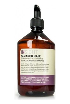 İnsight Damaged Hair Restructurizing Shampoo - Hasarli Saç Şampuani 500Ml