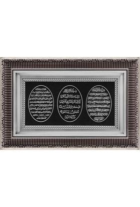 Ceptoys Bereket Nazar Ayet-El Kürsi 28X43 Cm. Gümüş