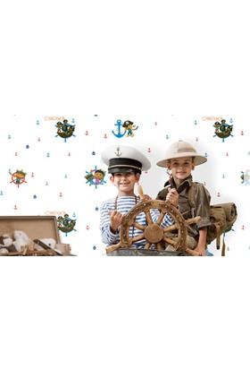 Deco Kids 1101-01 Çocuk Odası Pepe Duvar Kağıdı