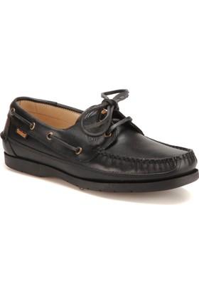 Dockers by Gerli 204352 Siyah Erkek Deri Marin Ayakkabı