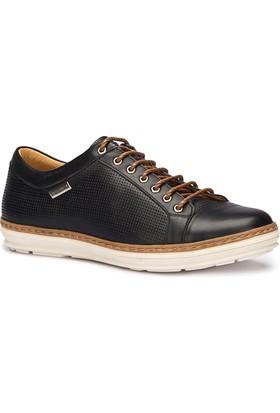 Lumberjack ZEGNUM Siyah Erkek Deri Ayakkabı