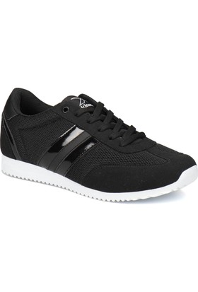 Kinetix AVILA MESH W Siyah Beyaz Kadın Sneaker Ayakkabı