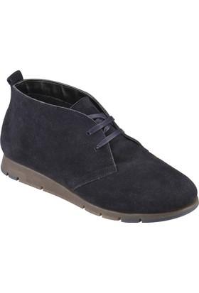 Travel Soft O272004 Siyah Kadın Deri Basic Ayakkabı