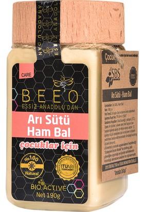 BEEO Çocuklar İçin Arı Sütü Ham Bal Karışımı 190 gr