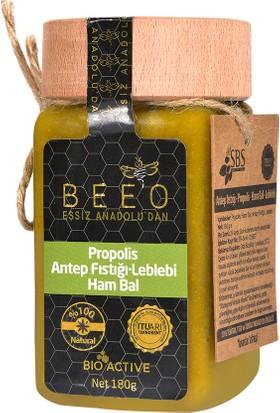 BEEO Antep Fıstığı, Leblebi, Propolis Ham Bal Karışımı 180 gr