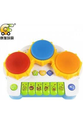 Kayıkcı Eğitici Bebek Oyuncak Pilli Davullu Piyano