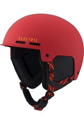 Electric Saint Matte Red Yellow Snowboard Kask