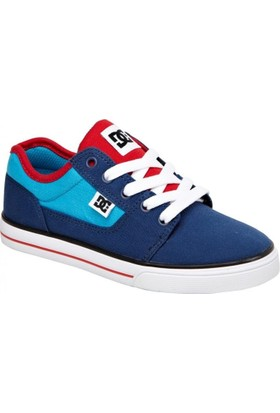 Dc Bristol Canvas B Shoe Blue Red