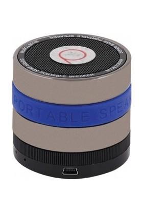 Powerway Blt-2 Mavi Fm Radyo, Microsd Destekli Bluetooth Speaker