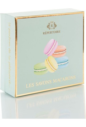 Madame Coco 6Lı Macaron Sabun Seti Kutu