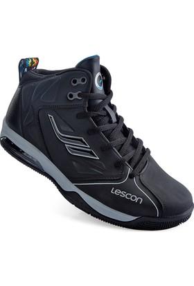 Lescon L-4104 Siyah Basketbol Ayakkabı 36-40
