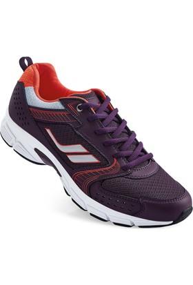Lescon L-4107 Mürdüm Running Ayakkabı 36-40