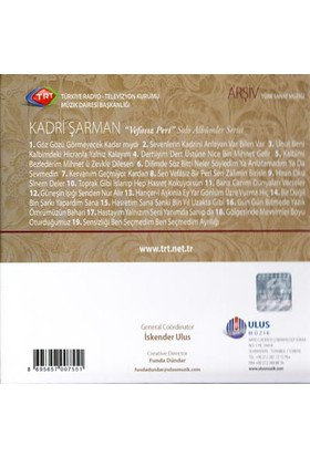 Kadrı Sarman/Vefasız Perı - Trt Cd Arsıv 170 (CD)