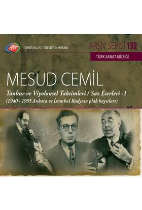 Mesut Cemıl/Tambur Ve Vıyolensel Taksıml - Trt Cd Arsıv 192