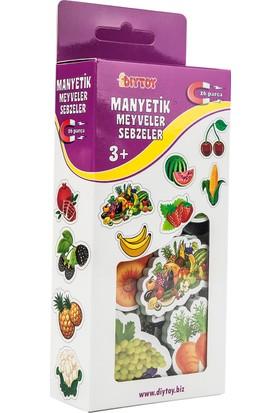 Diytoy Manyetik Meyve-Sebze