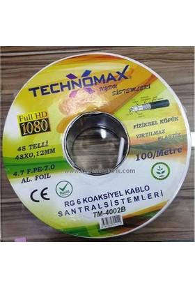 Technomax Rg6 Uydu Anten Kablosu 20 Mt