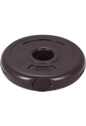 Spor724 0,5 Kg. Vinyl Plaka Flanş 1 Adet ( Dambıl Halter Ağırlık Seti Kondisyon Aleti Spor Malzemesi ) VP050