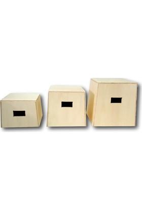 Arimax Cross Training Plyobox Ahşap Pliometrik Sehpa Set