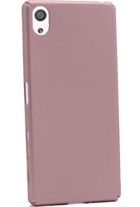 Gpack Sony Xperia X Kılıf 360 Derece Rubber Case Arka Kapak