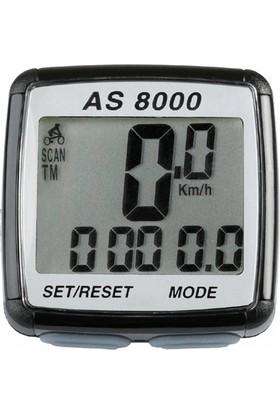 Assize Km Saati As-8000 Kablosuz Siyah