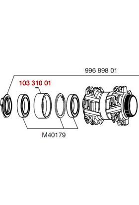 Mavic Ön Göbek Rulman Yatağı 20 mm Sokma Mil D-Cl Gri