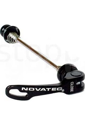 Novatech Tekerlek Mandalı 249 Ön Siyah