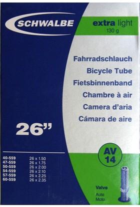 Schwalbe İç Lastik 26X1.50-2.35 E.Light Oto 40 mm Siyah