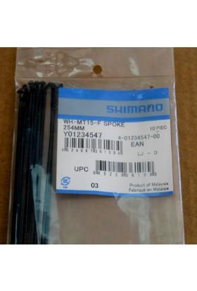 Shimano Jant Teli Wh-M505/Mt15-F 254 mm 254 mm