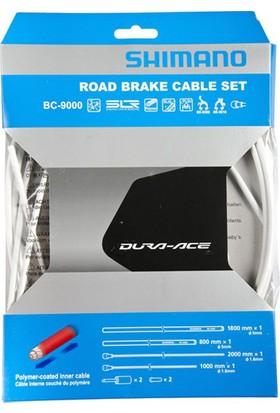 Shimano Dura Ace 9000 Fren Kablo Seti Beyaz