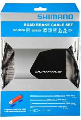 Shimano Dura Ace 9000 Fren Kablo Seti Siyah