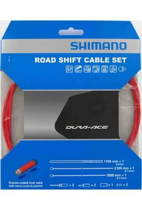 Shimano Dura Ace 9000 Vites Kablo Seti Kırmızı