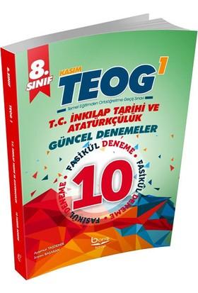 Barış Kitap Teog 1 T.C. İnkılap Tarihi Ve Atatürkçülük Güncel 10 Deneme Barış Kitap 8. Sınıf