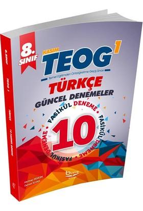 Barış Kitap Teog 1 Türkçe Güncel 10 Deneme Barış Kitap 8. Sınıf