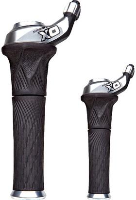 Sram Vites Kolu X0 Grip Shift 2X10 Set Gümüş