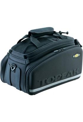 Topeak Bagaj Üstü Çanta Trunk Bag Dxp Cırtlı Siyah