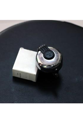 Yws Zil Siyah Tokalı Klasik Gümüş